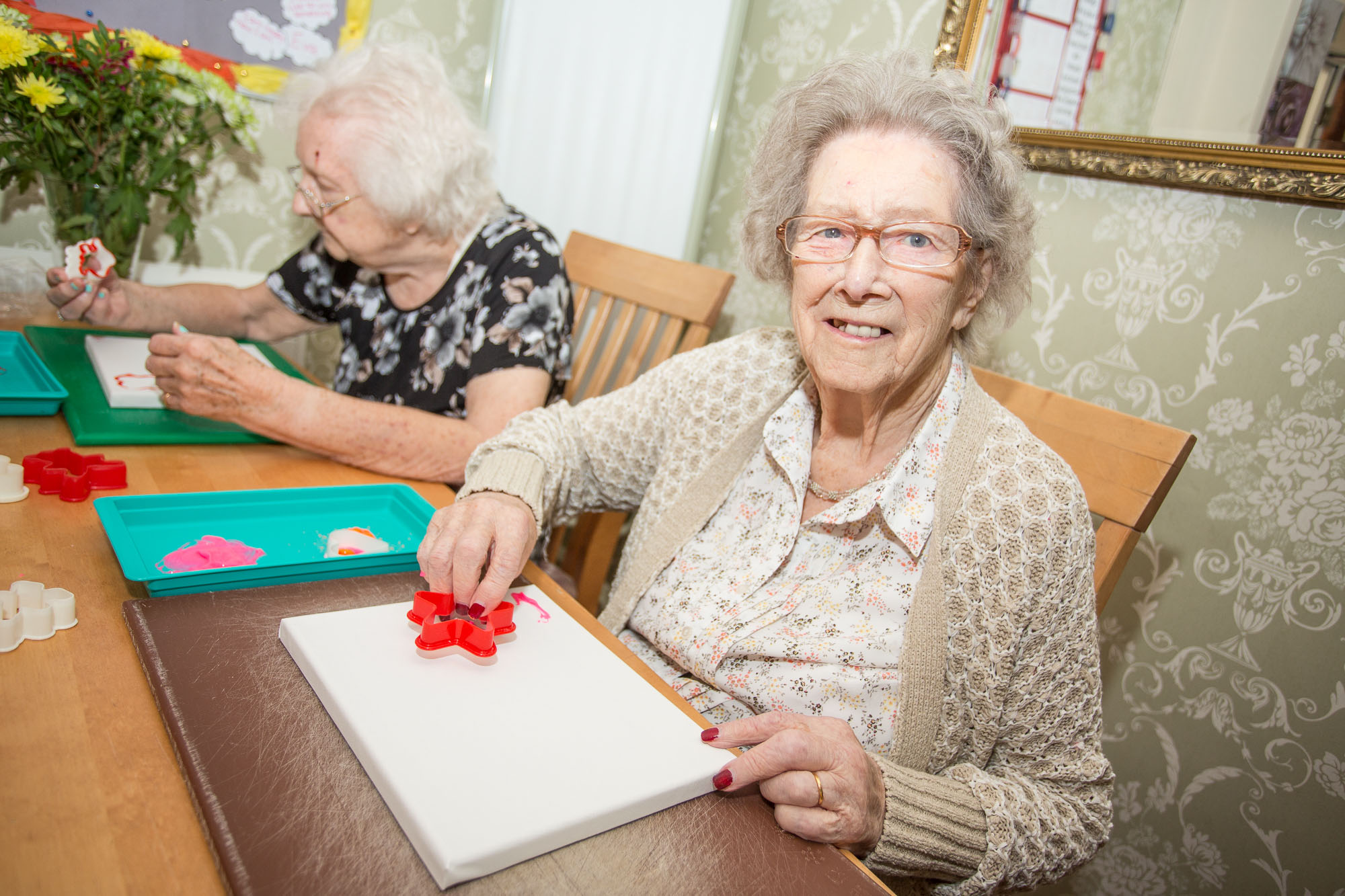 care home activities