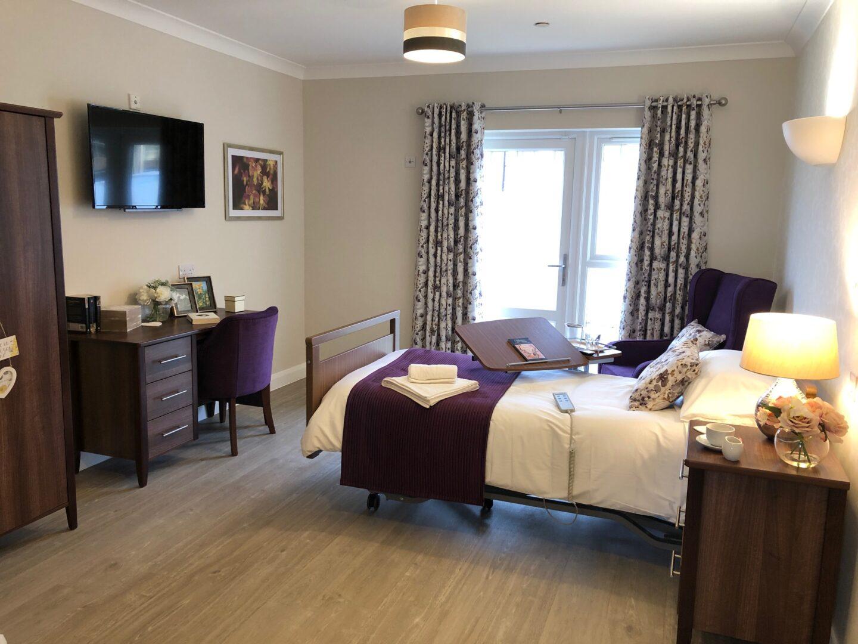 Bishop's Cleeve Care Home Bedroom