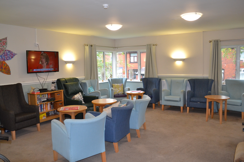 Burrswood Care Home Lounge