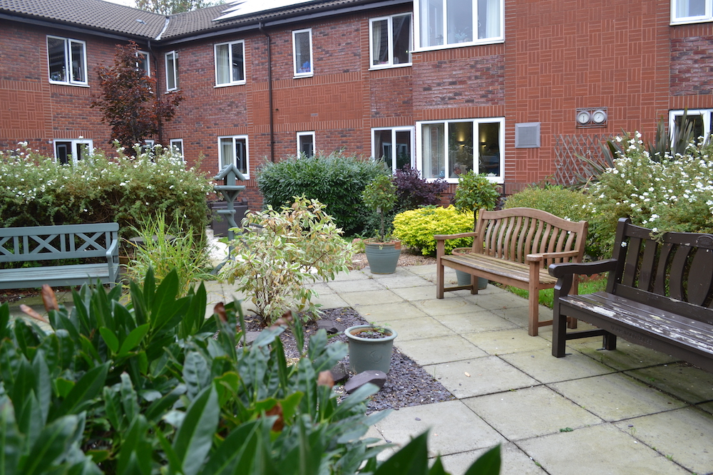 Burrswood Care Home garden