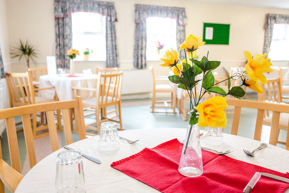 Cloisters Care Home Dining Room