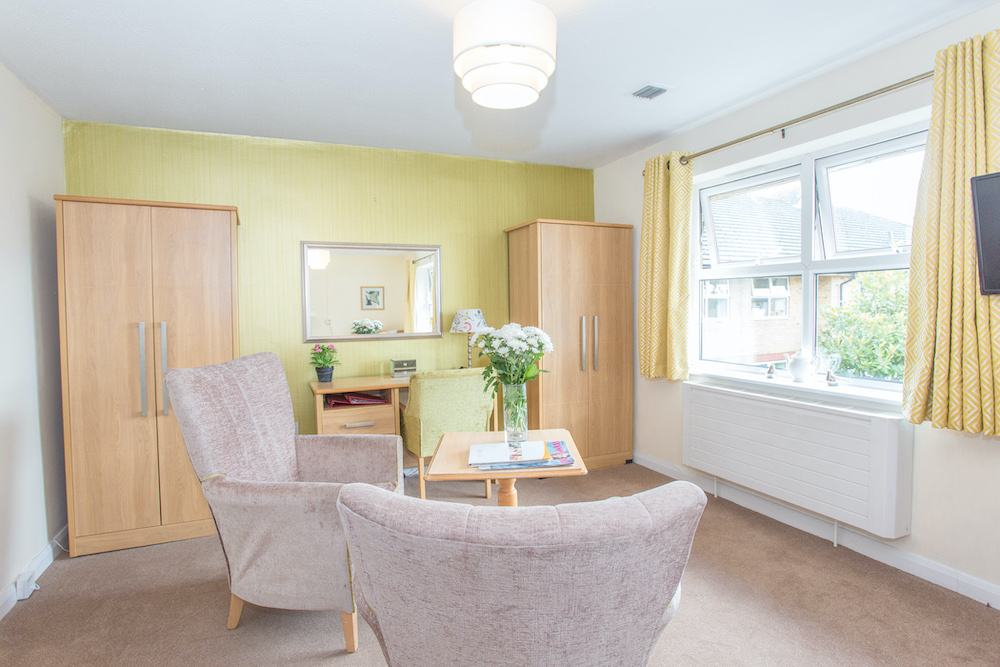 Cloisters Care Home lounge