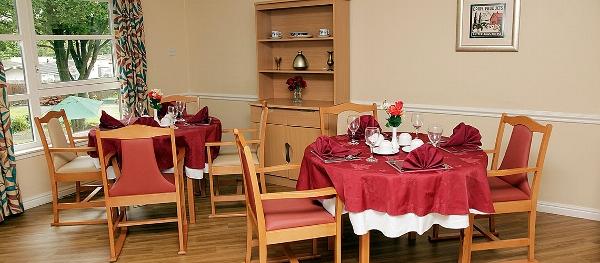Craigbank care home dining