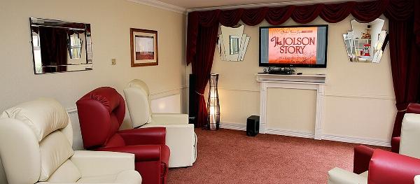 Deanfield Care Home cinema