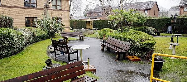 Deanfield Care Home garden