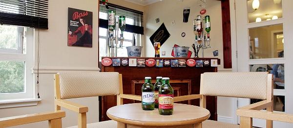 Elderslie Care Home bar