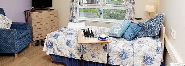 Elderslie Care Home bedroom