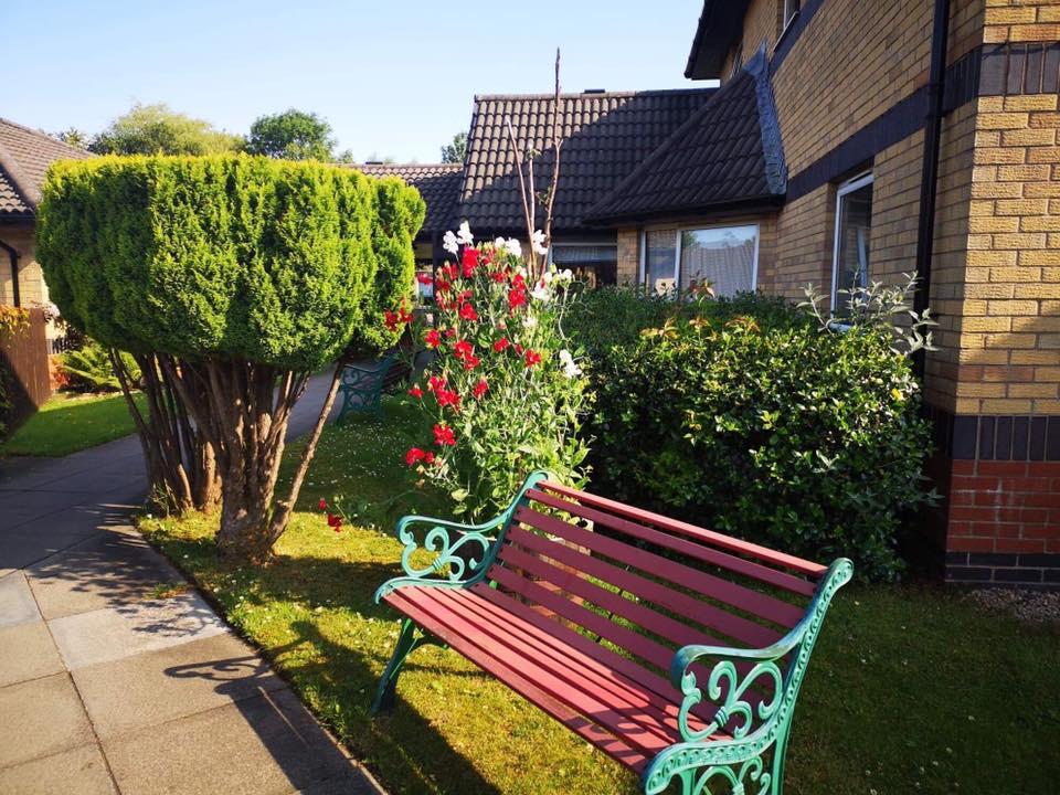 Golfhill Care Home garden