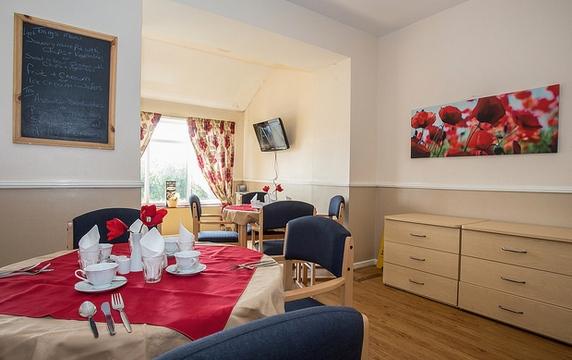 Longwood care home lounge