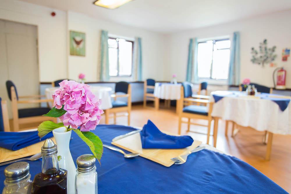 Madeira Care Home dining 2