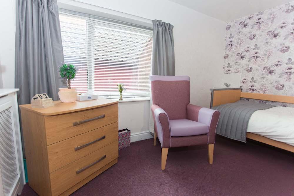 Madeira Care Home bedroom