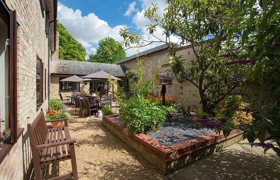 Maycroft Care Home garden