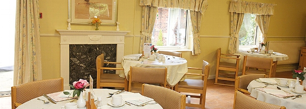 Mill View Care Home dining