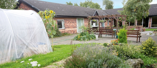 Mill View Care Home garden