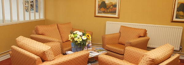 Mill View Care Home lounge