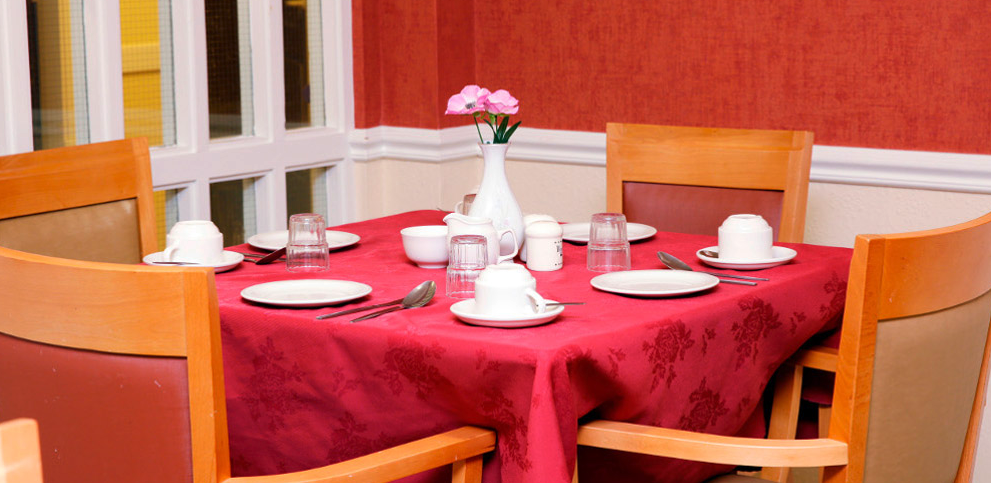 Millview Care Home dining