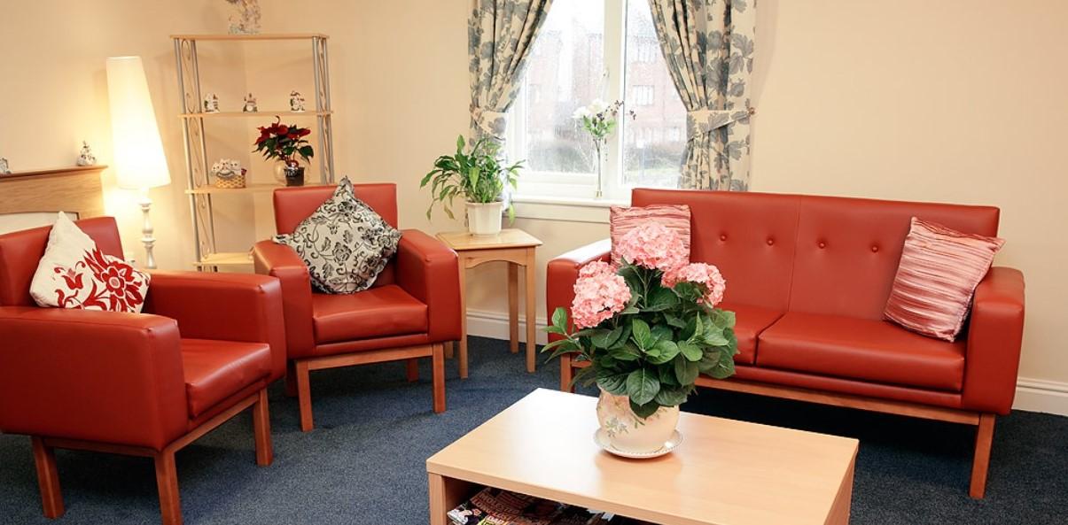 Newcarron Care Home lounge