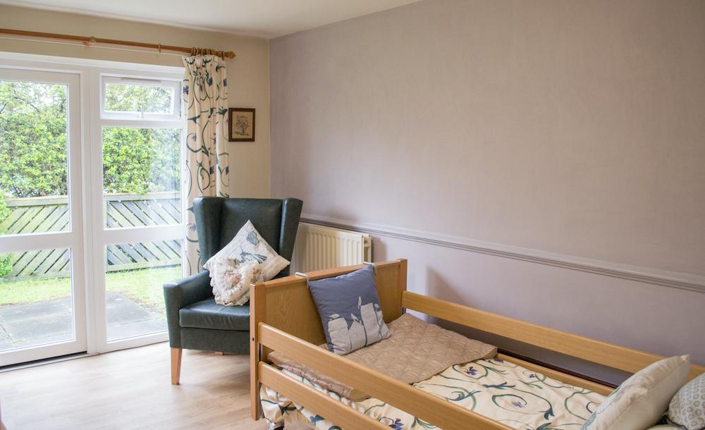 Netherton Green Care Home bedroom