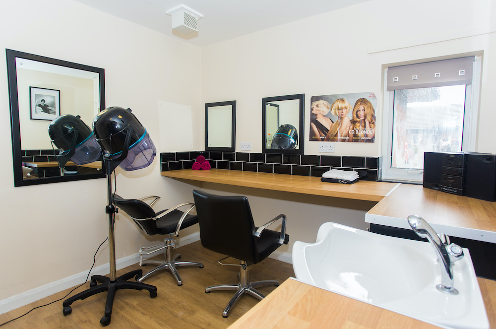 Parklands Court Care Home salon
