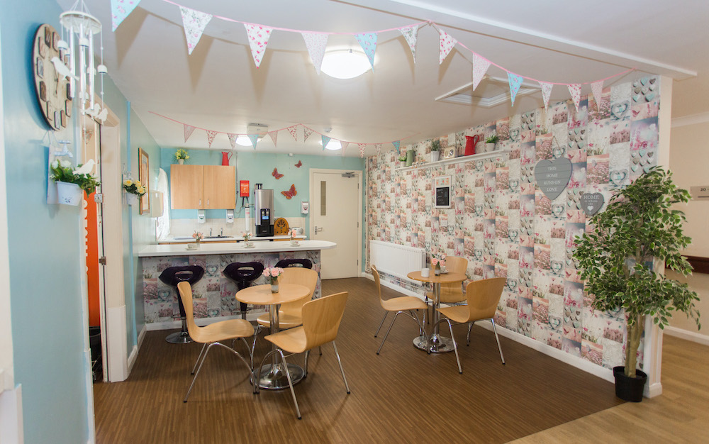 Parklands Court Care Home cafe