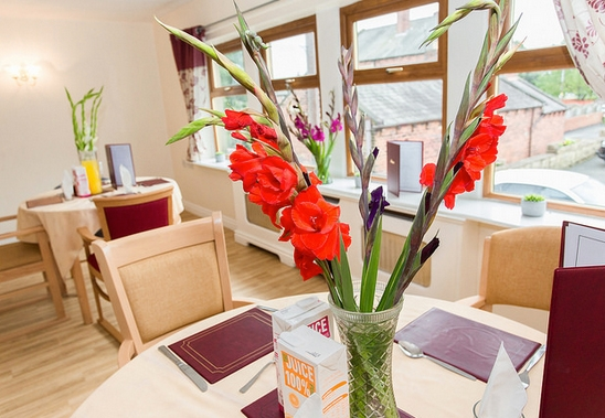 Roberttown Care Home dining