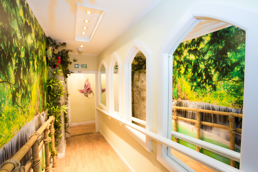 Roseacres Care Home hallway