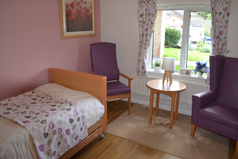 Rutherglen Care Home bedroom
