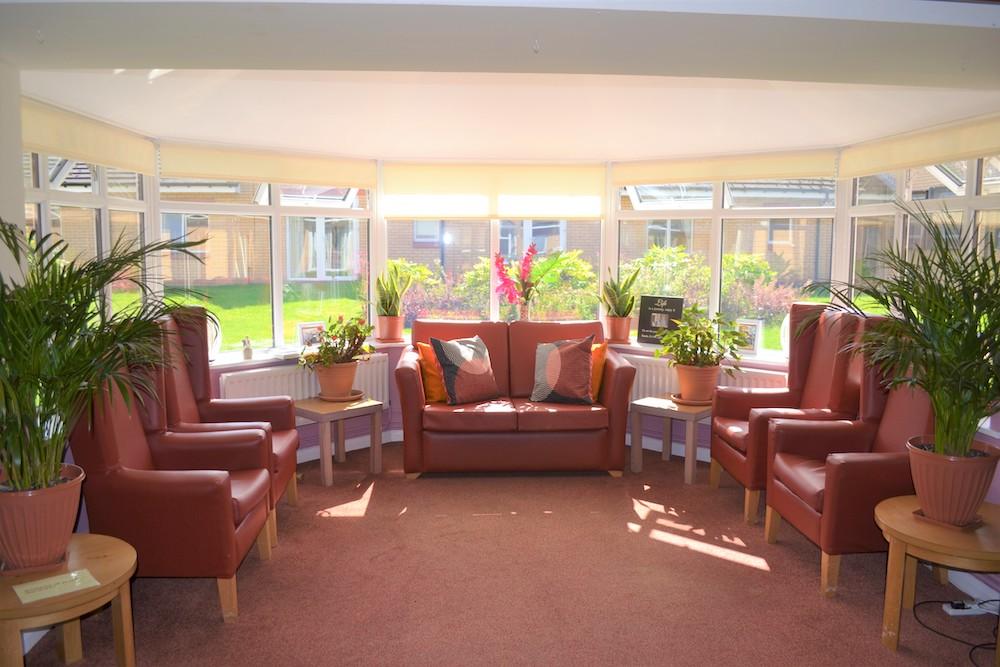 Rutherglen Care Home lounge