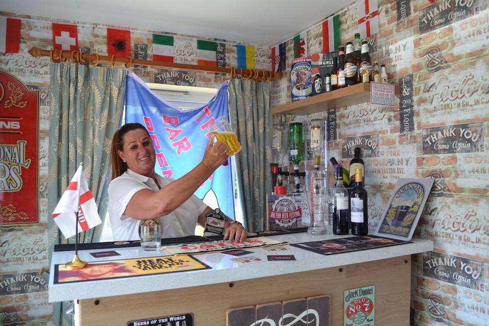 Stonedale Lodge care home bar