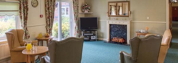 Stonedale Lodge care home lounge