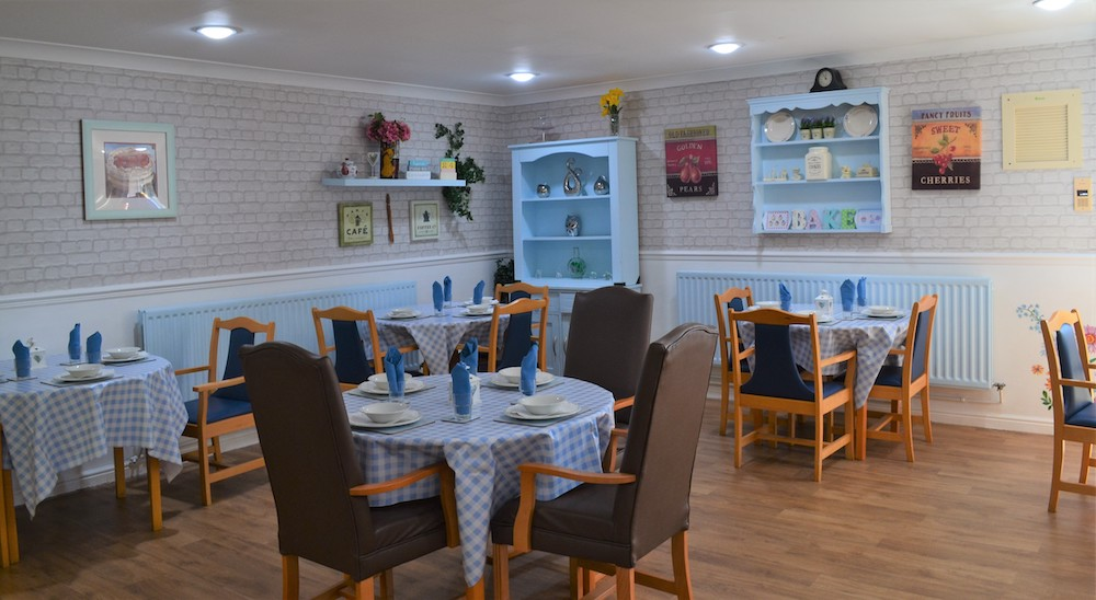 West Ridings Care Home dining
