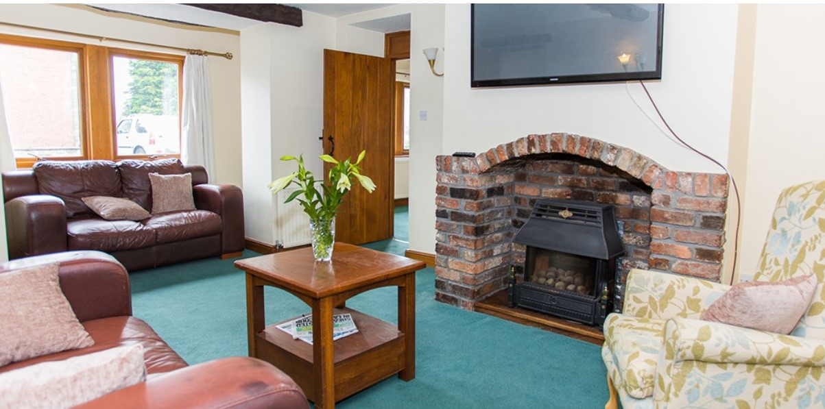 Roberttown Care Home living room