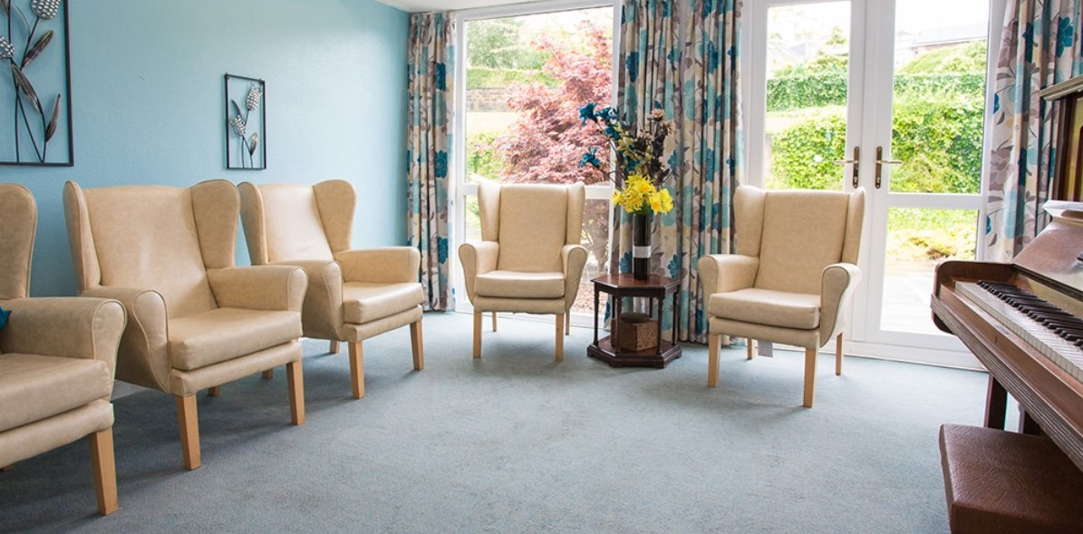 Woodfield care home dining