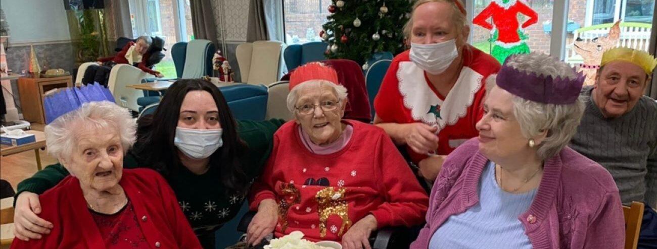 Residents at Mill View Care Home rang in the New Year with parties across each unit.