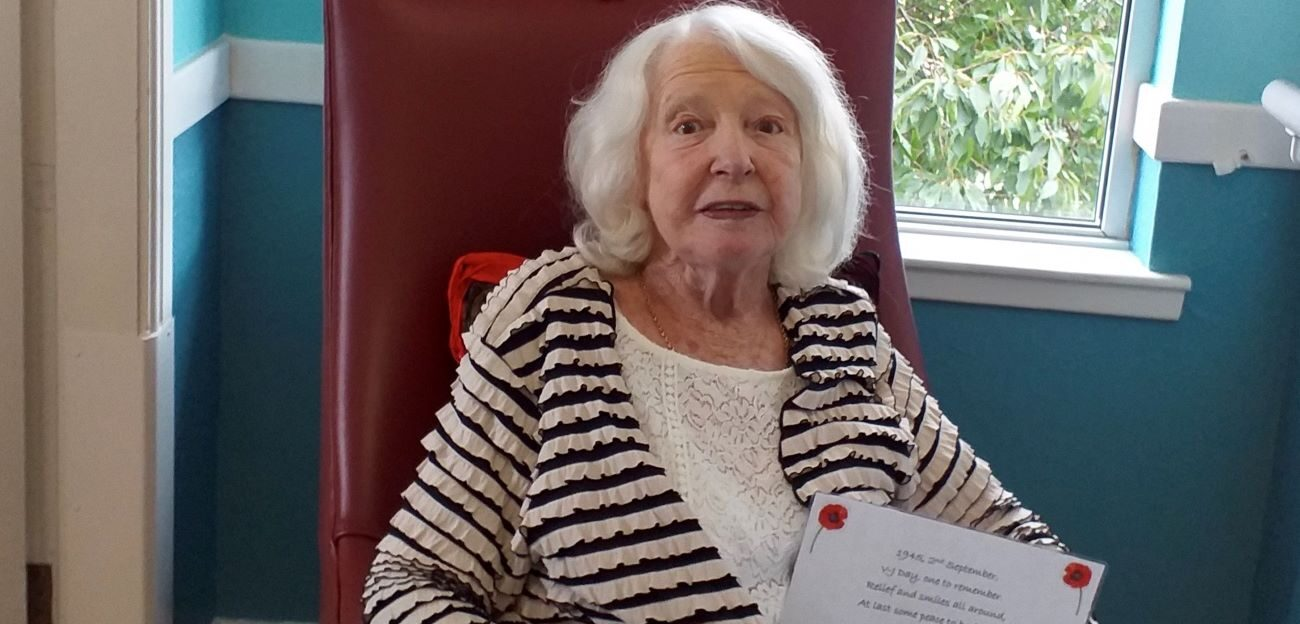 Norwood Resident Isabella 'Belle' McCreadie and West Ridings Resident Jean Flintoff have won our Poppy Competition with their emotional poem and picture.