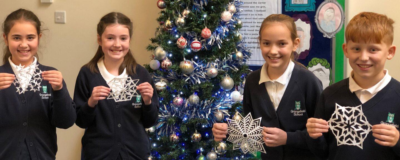 Bishop's Cleeve snowflake appeal