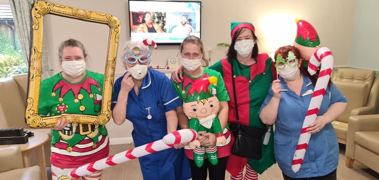 Colleagues at Gorton Parks channelled their inner Will Ferrell on the run-up to Christmas – by dressing up for Elf Day.