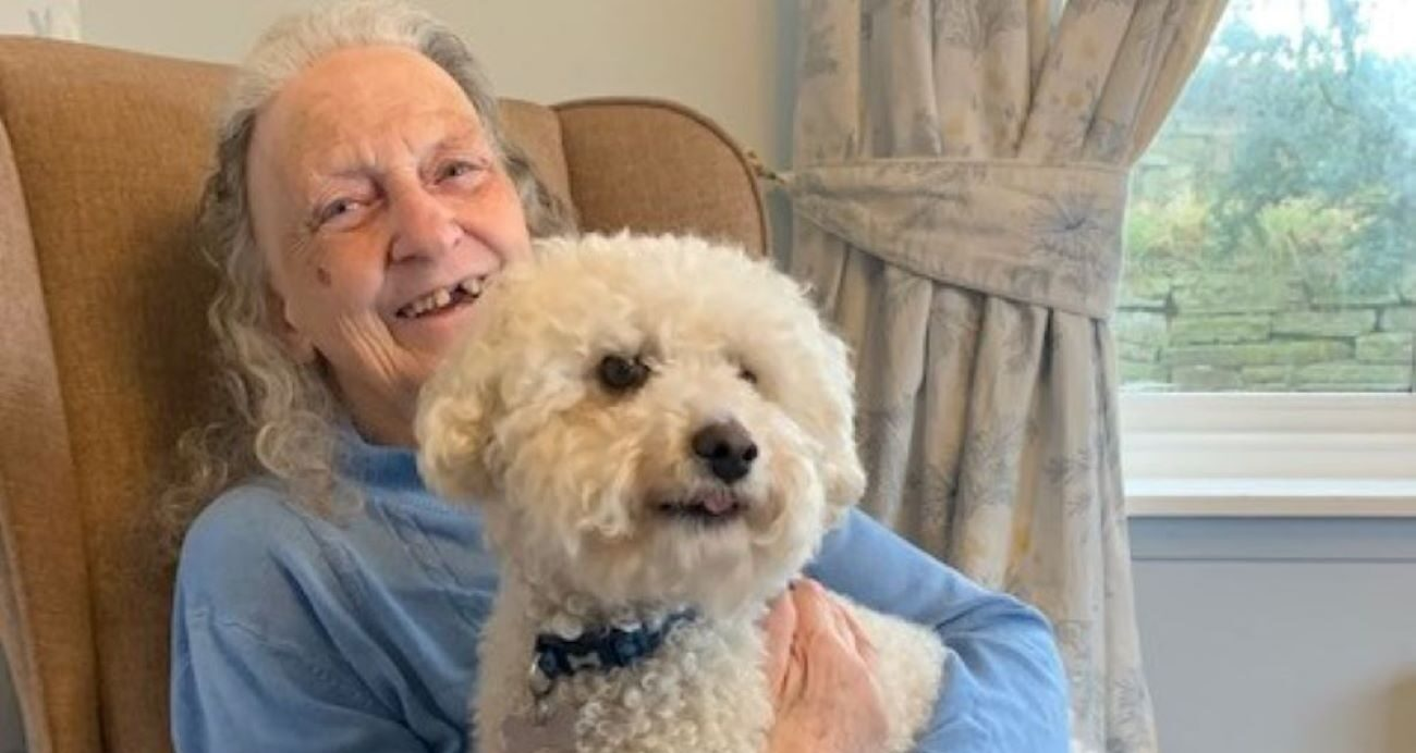 sir bob the dog to barrock court residents