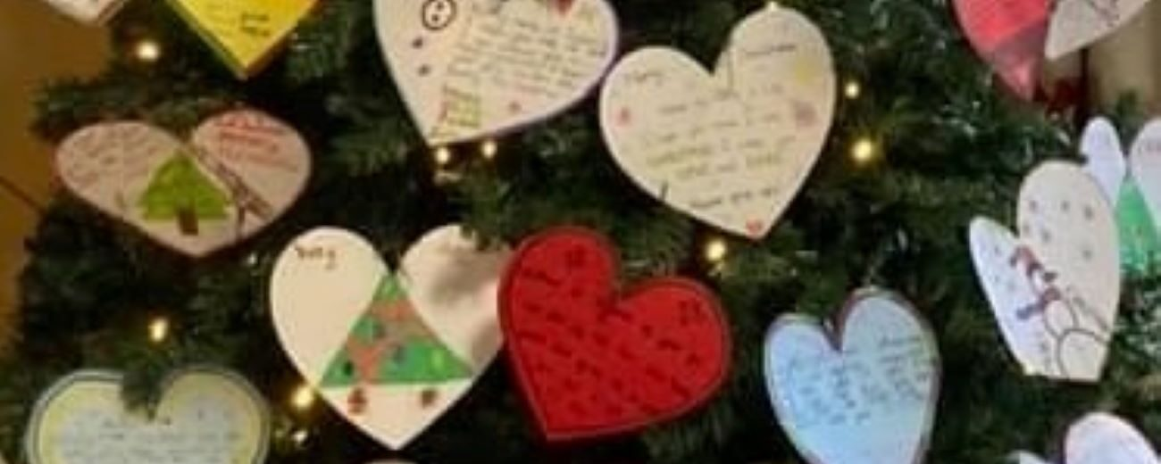 Gressenhall Primary School Pupils Send Christmas Heart Messages To Woodstock