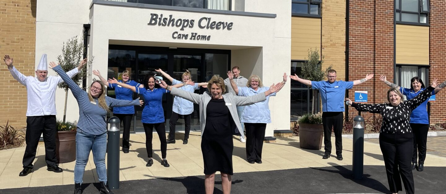 Bishop's Cleeve Care Home Opening