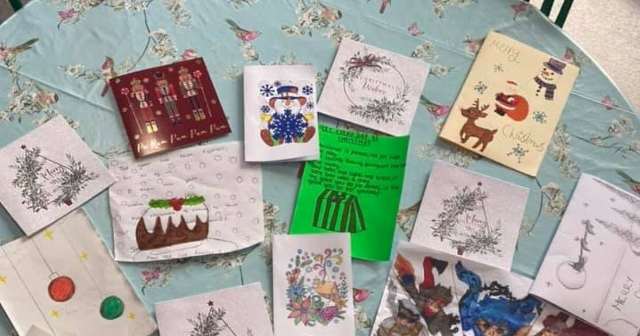 Kind-hearted pupils from the Link Academy in Dudley have been sending messages of hope to Residents at Netherton Green Nursing Home.