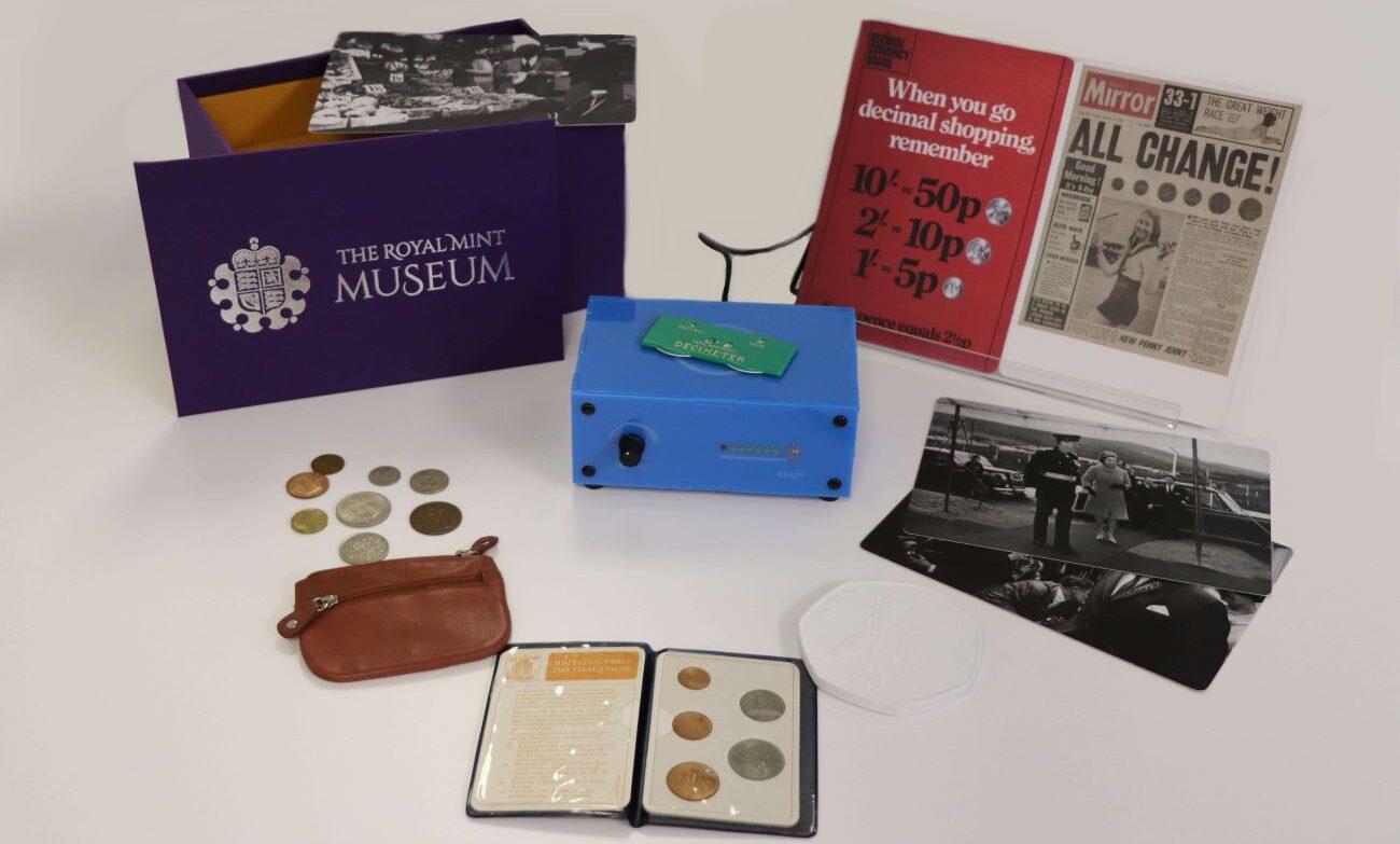 royal mint memory box