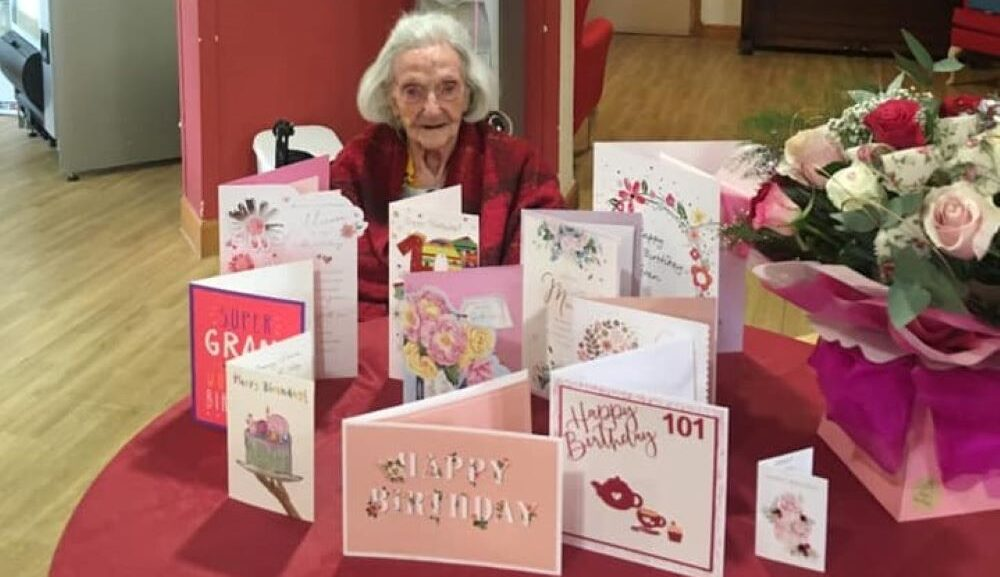 Beloved Goldielea Resident Ruby Brown celebrated turning 101 this March with a birthday tea party.
