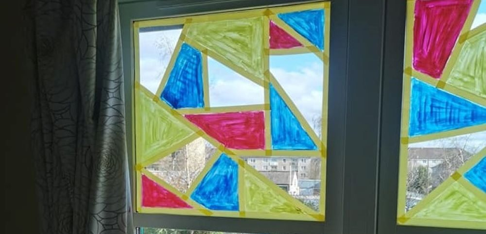 Kind-hearted Colleagues at Haydale Care Home have created stunning stained-glass windows for Residents confined to bed.