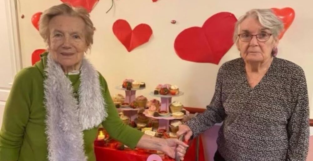 Residents at Deanfield celebrated Valentine's Day in style this year with a special lunch and dance.