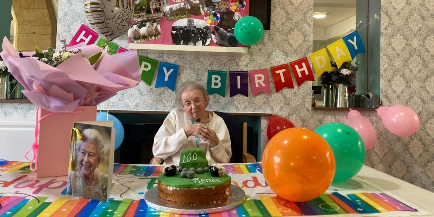 Birthday Girl Rene Celebrates Turning 100 With Her Two Best Friends