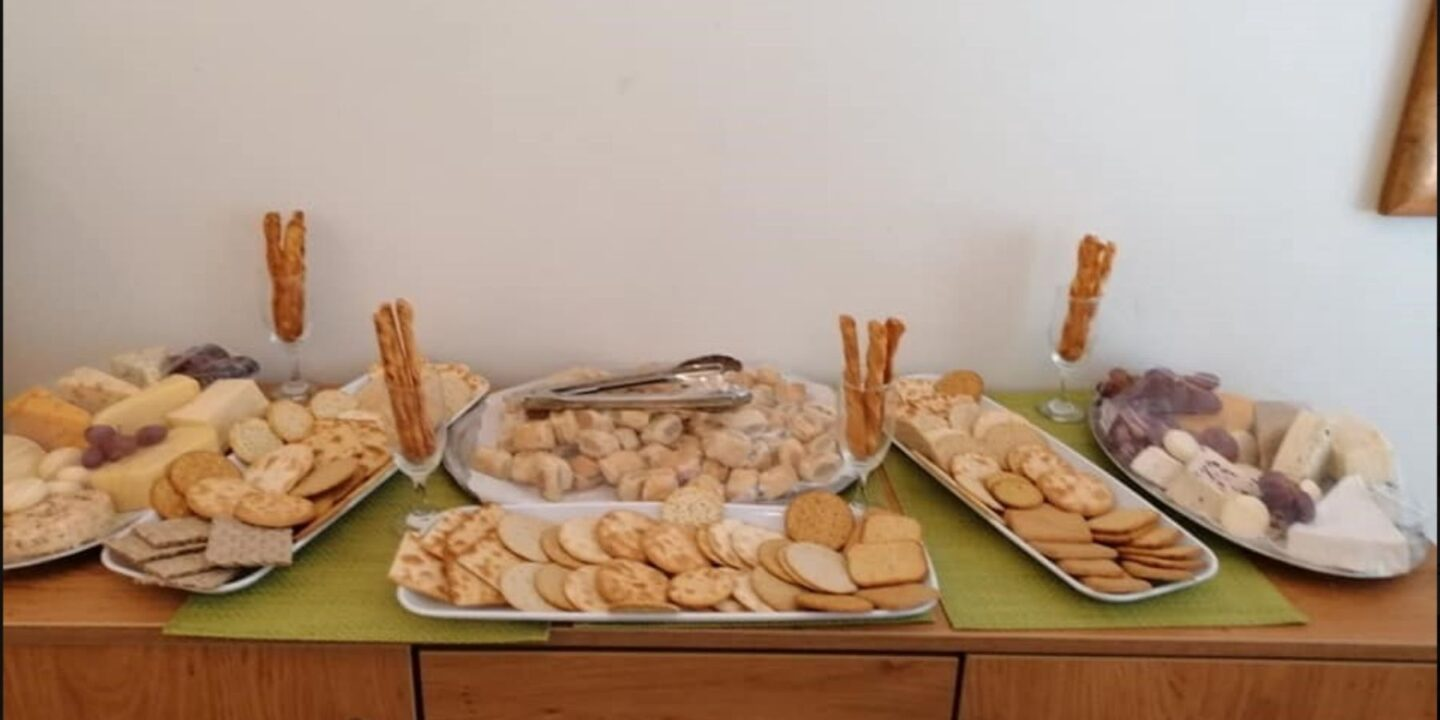 Cheese and Wine tasting event at Hammerwich Hall