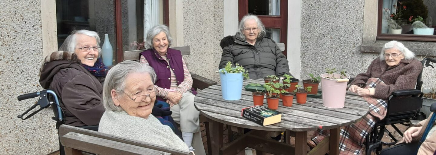 Annan Court Care Home Gardening Club