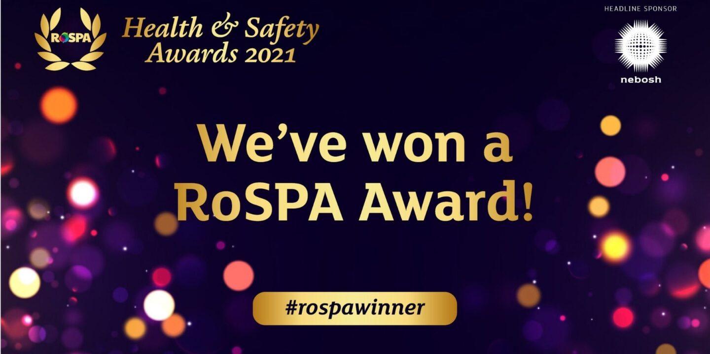 Advinia Wins Prestigious RoSPA Silver Award For Health And Safety Performance