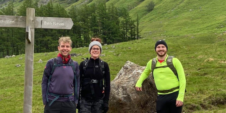 Goldielea's Steph Completes Three Peaks Challenge For Minibus Fundraiser 1